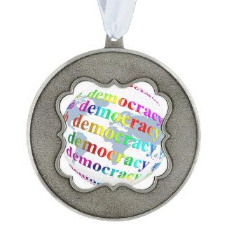 Global Democracy Ornament