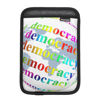 Global Democracy Sleeve For iPad Mini