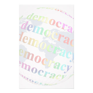 Global Democracy Stationery