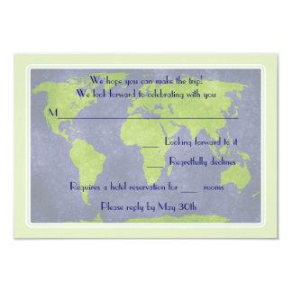 Global Destination Wedding Response Card