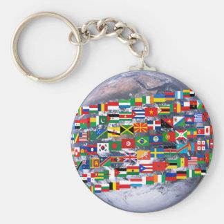 Global Diversity #1 Keychain