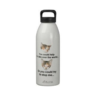 Global Domination Water Bottle