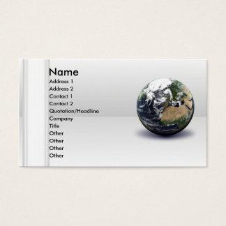 Global Earth Business Card