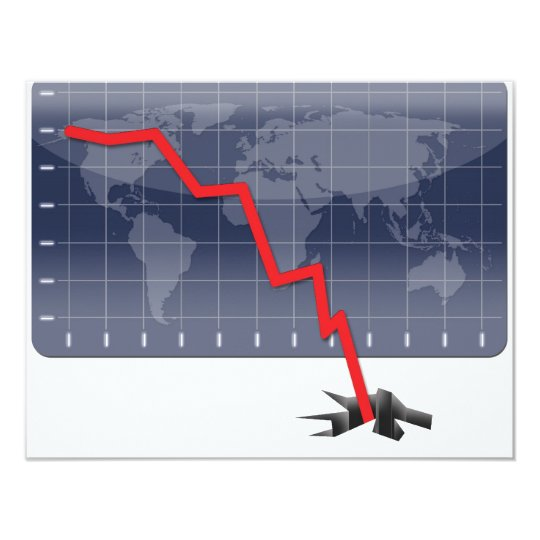 Global Economic Crisis Card