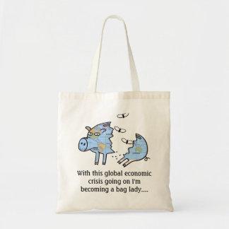 Global Economic Crisis Gift Tote Bag