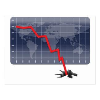 Global Economic Crisis Postcard