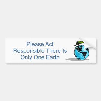 Global Environment Bumper Stickers