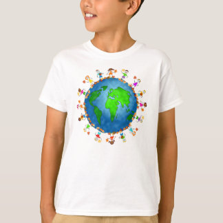 Global Fall Kids T-Shirt