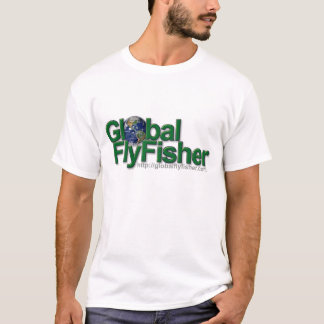 Global FlyFisher logo T-shirt