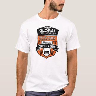 Global Foundries of Malta Retro-T T-Shirt