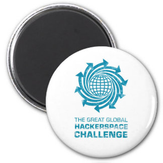Global Hackerspace Gear 2 Inch Round Magnet
