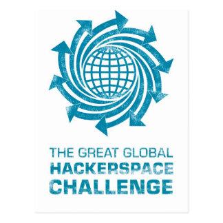 Global Hackerspace Gear Postcard