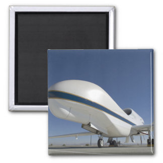Global Hawk unmanned aircraft 2 2 Inch Square Magnet