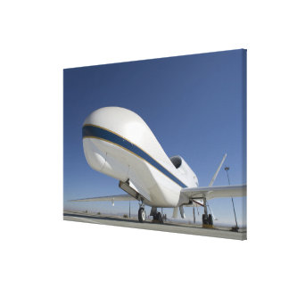 Global Hawk unmanned aircraft 2 Canvas Print