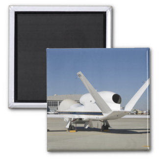 Global Hawk unmanned aircraft 2 Inch Square Magnet