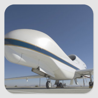 Global Hawk unmanned aircraft 2 Square Sticker