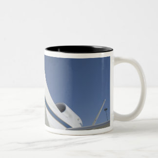 Global Hawk unmanned aircraft 2 Two-Tone Coffee Mug