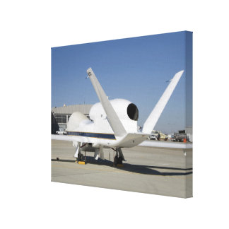 Global Hawk unmanned aircraft Canvas Print