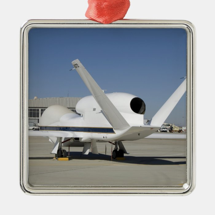 Global Hawk unmanned aircraft Metal Ornament