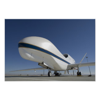 Global Hawk unmanned aircraft Poster