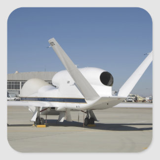 Global Hawk unmanned aircraft Square Sticker