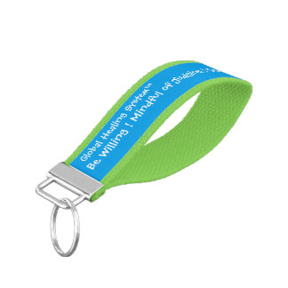 Global Healing System™ Wrist Key Chain
