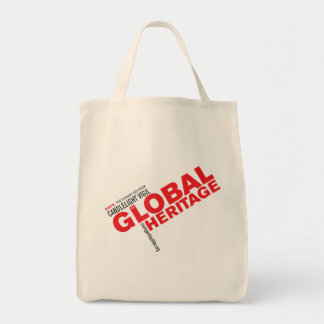 Global Heritage bag (red logo)