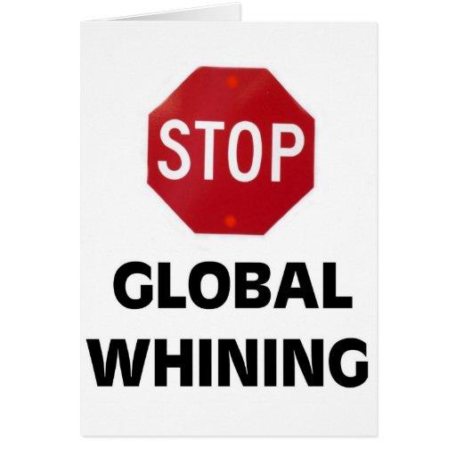 GLOBAL HOAX CARD