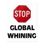 GLOBAL HOAX POSTCARD