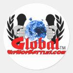 Global hopjpeg1 classic round sticker