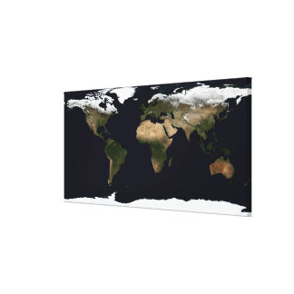 Global image of our world canvas print