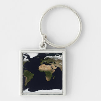 Global image of our world keychain