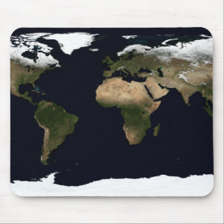 Global image of our world mouse pad