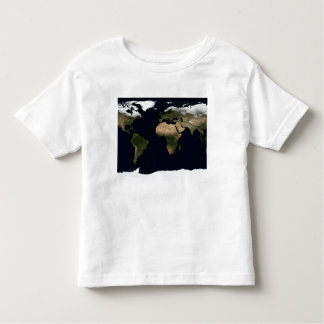 Global image of our world toddler t-shirt