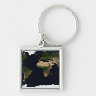 Global image of the world keychains