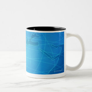 Global Image Two-Tone Coffee Mug