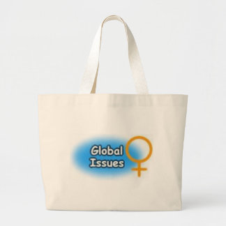 global issues large tote bag