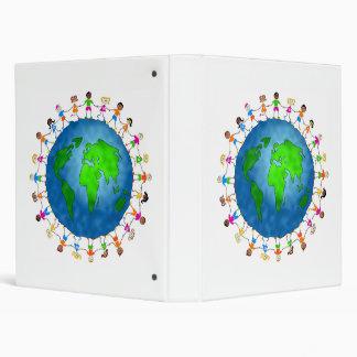 Global Kids 3 Ring Binder