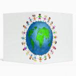 Global Kids 3 Ring Binders