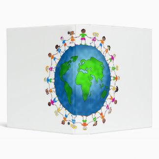 Global Kids Vinyl Binder