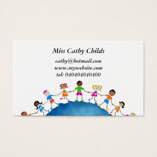 Global Kids, Business Card
