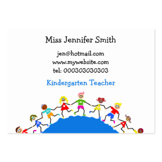 Global Kids, Large Business Cards (Pack Of 100)