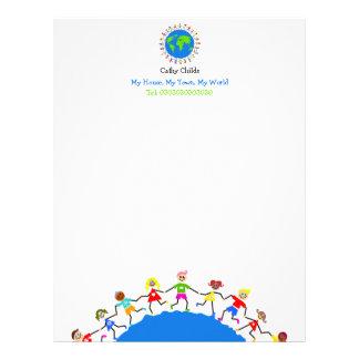 Global Kids, Letterhead