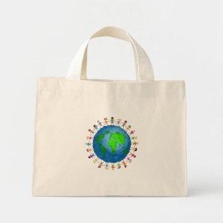 Global Kids Mini Tote Bag