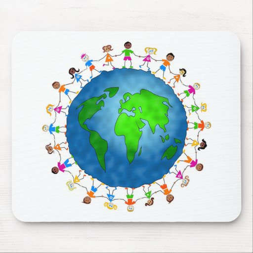 Global Kids Mouse Pad