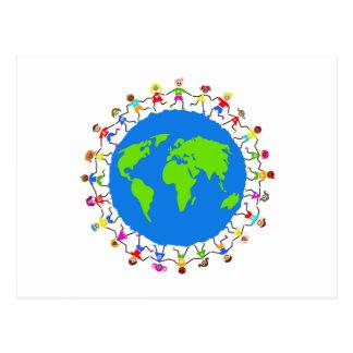 Global Kids Postcard