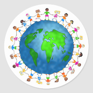 Global Kids Stickers