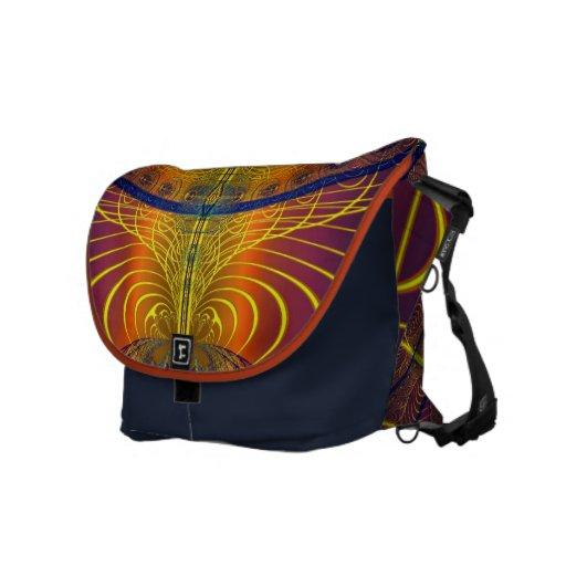 Global Lace Commuter Bag