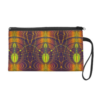 Global Lace Wristlet Clutches