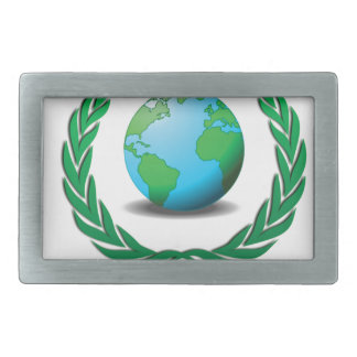 global leader rectangular belt buckle